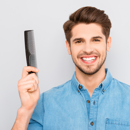Guy with Comb klein2